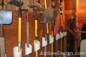 AshbeeDesignShed pvc pipe